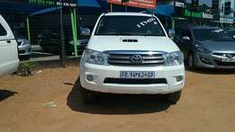 2010 Toyota fortuner 3.0D-4D R/B for R 174,900