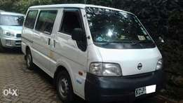 Nissan vanette privately used