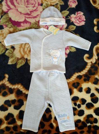 Новий комплект костюм для новонародженого хлопчика р62 Вінниця - зображення  2 3d064d6e5e92e