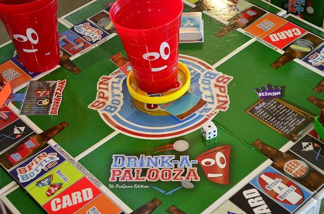 DRINK-A-PALOOZA Board Game: The Monopoly of Drinking Games! Parklands - image 5