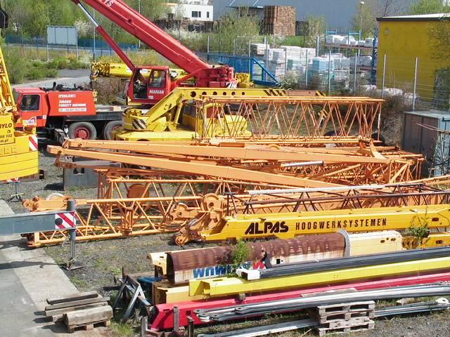 Liebherr LTM 1200 Main Boom 54,5 mtr + Fix jib 22 Luffing jib 63 mtr - 1991 - image 12