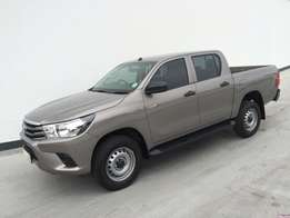 Demo Model - 2016 Toyota Hilux 2.4GD-6 double cab SRX