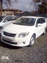 Toyota Fielder a 2012 model, fully loaded with vvti engine.