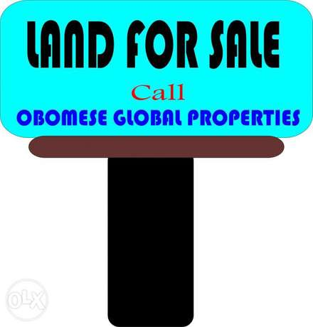 3 & Half plots in Eneka link road, opposite WETLAND learning centre Port-Harcourt - image 1