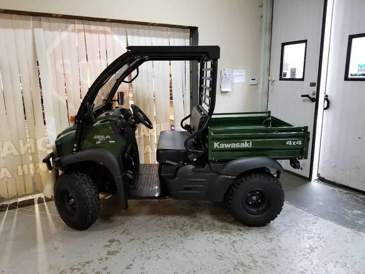 Kawasaki Mule Sx 4x4 Fi Traktor Demo - 2019