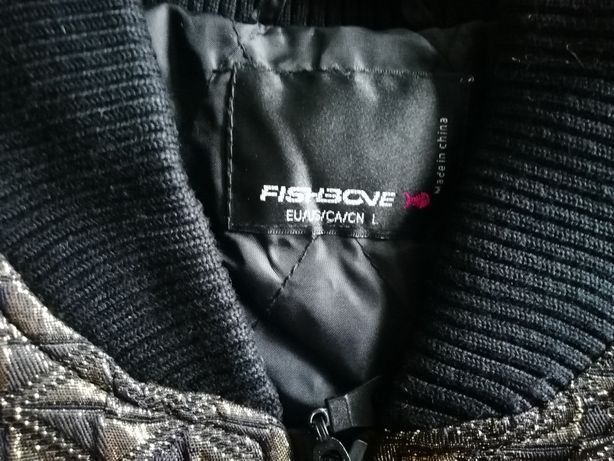 bluza fishbone czarna damska