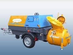Pump estromat 260e-ls2,2 elektro estriche estrichmaschine betonpu - 2019