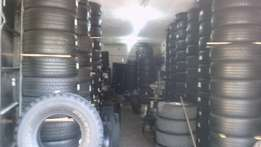 second hand and new tyres available