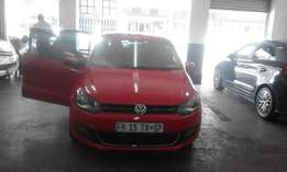 Vw polo 6 red in color 1.6 confort line 2013 model 54000km R117,000
