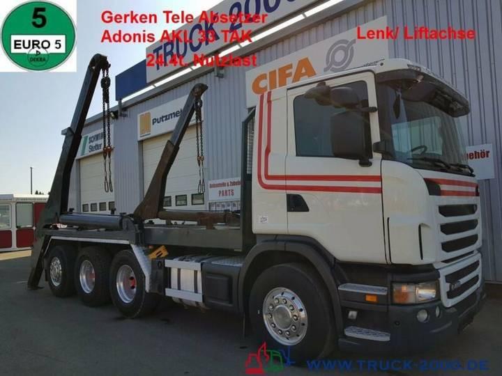Scania G 480 8x4 Tele Gerken Adonis 24.5t. NL Lenk Lift - 2010