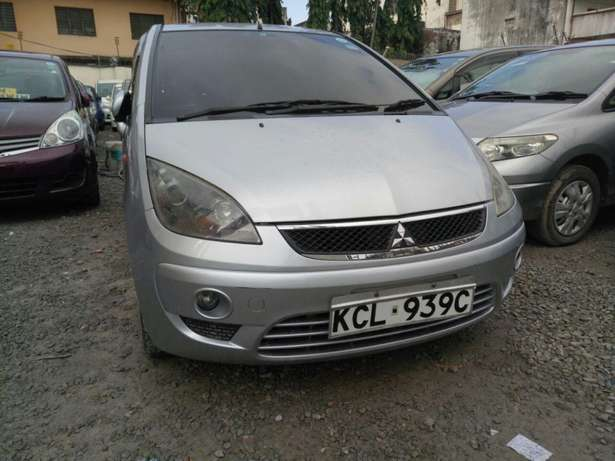 Mitsubishi colt plus KCM number 2010 model loaded with alloy rims Mombasa Island - image 4