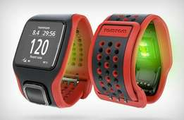 TomTom multisport watch with built in heart rate monitor