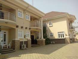 Beautiful and newly built 4 bedroom duplex wit 1rm BQ for rent at jabi