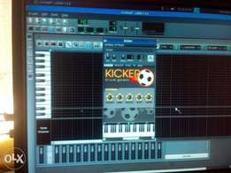 LMMS, music production software