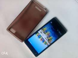 gold tecno w3 with front flash light