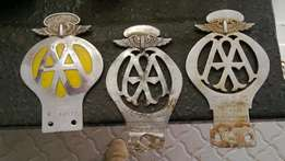 A A badges coletectors item in good condition