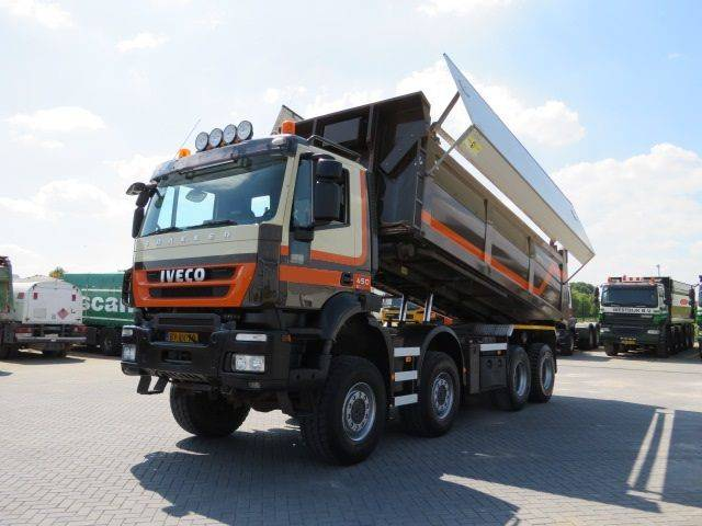 Iveco AD410T45 8x8 Kabelsysteem met Kipper container - 2009