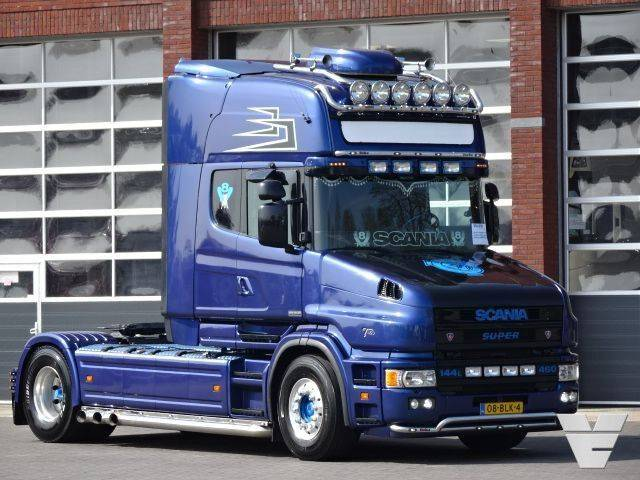 "Scania T144-460 ""King of the Road, Show truck"" - 2001"