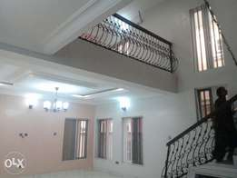 Lovely and well furnished 4 bed rm duplex with Bq. Title : C of O