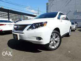 Lexus RX 450H Year 2010 Model Automatic Transmission White Color KCN