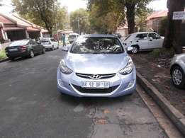 Hyundai elentra gls blue in color 2013 model 97000km R130000
