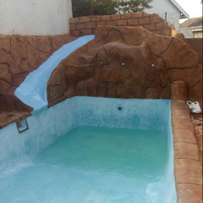 Swimming pool and paving specials