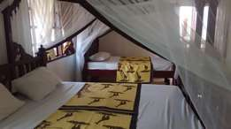 FURNISHED three bedroom apartment in Nyali to let.