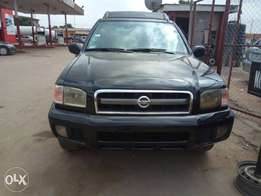 Registered Nissan Pathfinder 2003/04 with Auxiliary