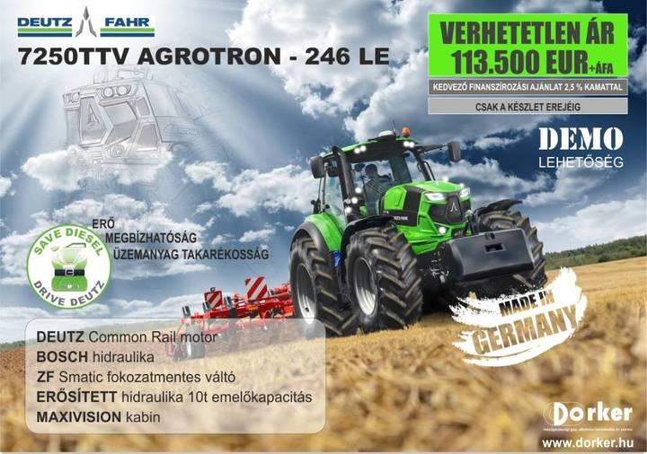 Deutz-fahr 7250ttv Agrotron - 2017