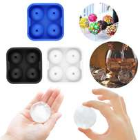 Silicone Round Ice Balls Maker Tray for Whisky or cocktails