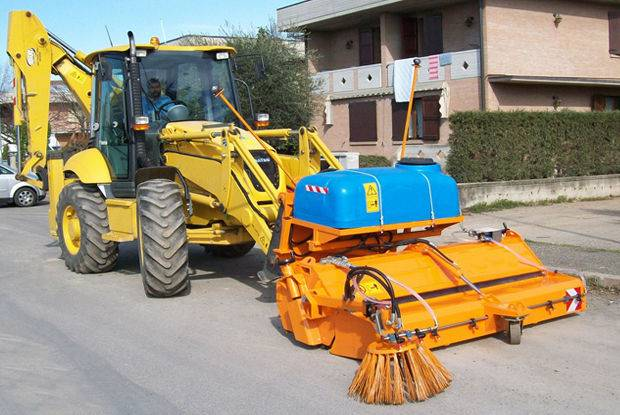 SNOW Service gritter