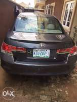 2012 Honda accord registered