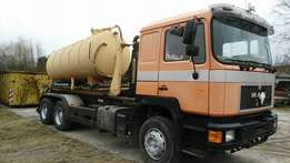 Man diesel double axle safety tank .