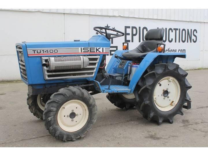 Iseki TU1400 4WD Mini Tractor