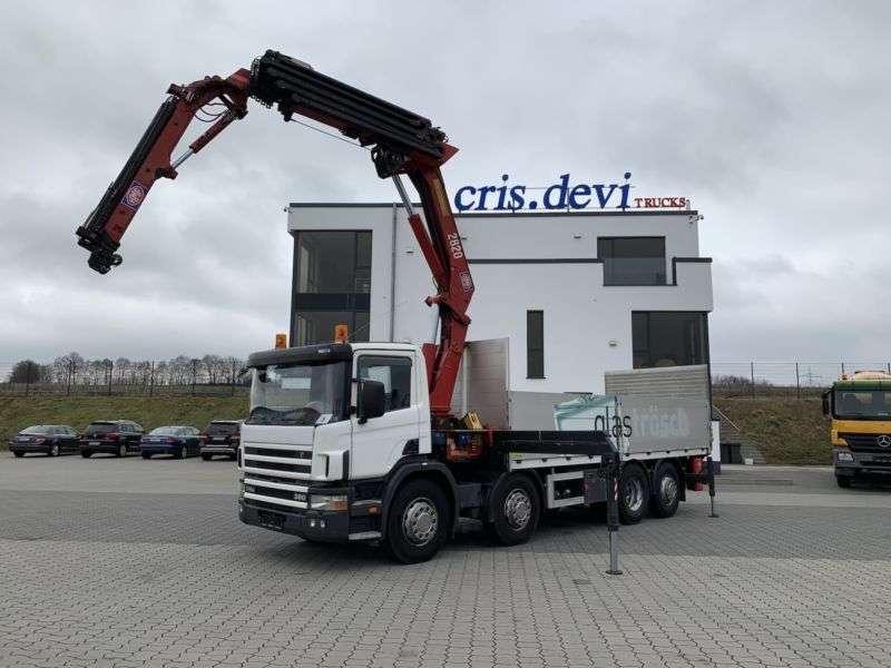 Scania P114 380 8x2 Hmf 2820 Mit Jib + Seilwinde Lbw - 2002 - image 8