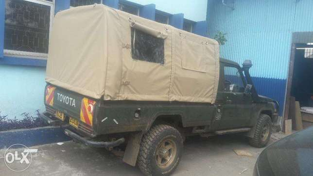 MCI Ltd: Canvas hoods and covers for Land Cruisers Industrial Area - image 2