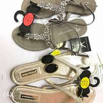 Ladies slippers and sandals