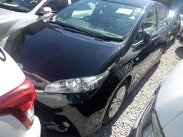 Toyota wish 2010 with alloy rims Black