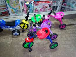 Cartoon themed tricycle, Sofia,Ben 10,spiderman,much more
