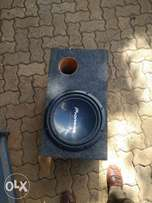 Pioneer Subwoofer with cabinet 1000Watts
