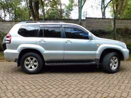 Well maintained Toyota prado 3litre diesel