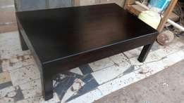 Executive solid hard wood big coffee table