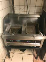Deep fryer for Chips