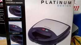 Brand New Platinum Sandwich Maker