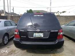 2006 Tokunbo Toyota Highlander with 3 Rows Seats