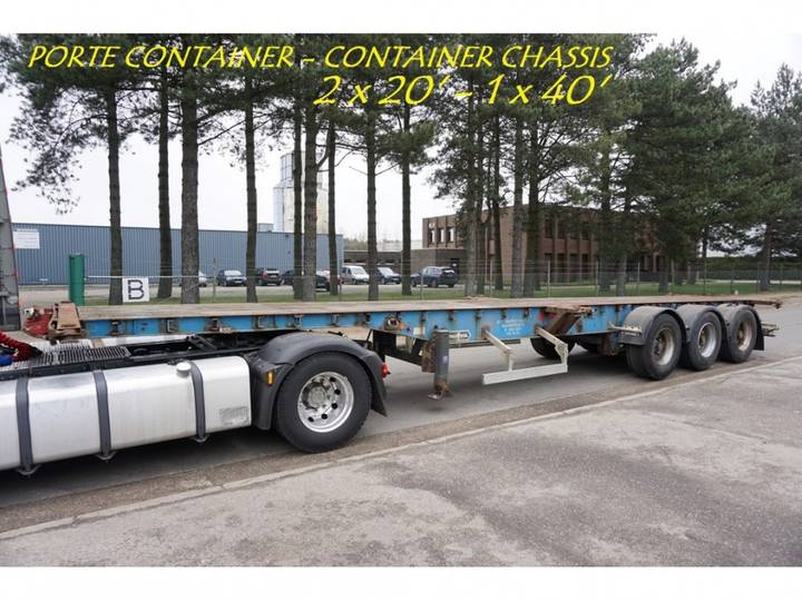 LAG CONTAINER CHASSIS - PORTE CONTAINER - 2x 20ft - 1x 40ft - - 1994