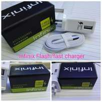 Infinix Flash Charger for Note Series X551/ X600/ X601 in White