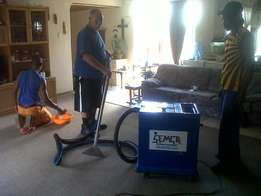 Cleaning of carpets and upholstery