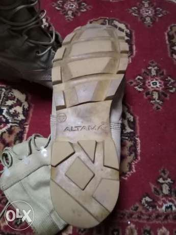 Army boots ALTAMA