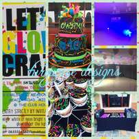 kids disco themed party #10